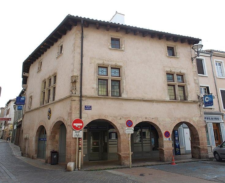 Photo du Monument Historique Maison situé à Tournus