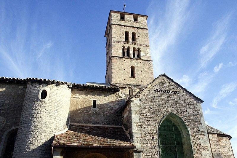 Photo du Monument Historique Eglise Saint-Pierre situé à Uchizy