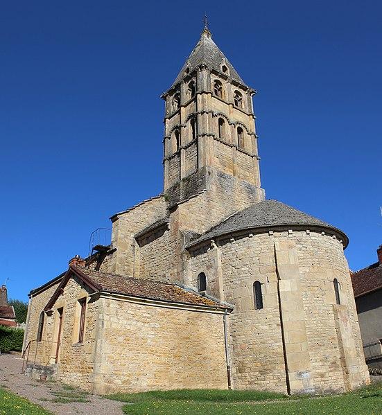 Photo du Monument Historique Eglise situé à Vareilles