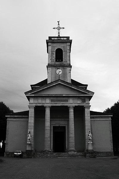 Photo du Monument Historique Eglise Saint-Julien situé à Sennecey-le-Grand