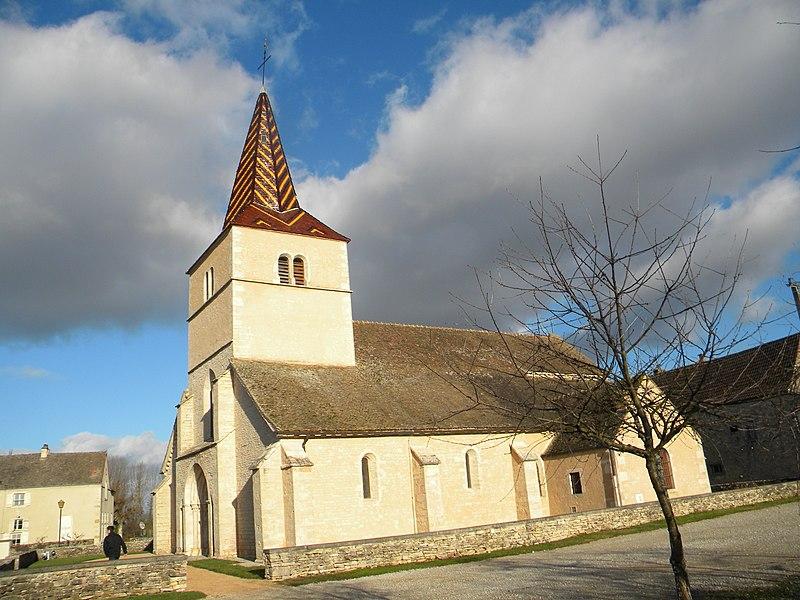 Photo du Monument Historique Eglise Saint-Véran situé à Chaudenay