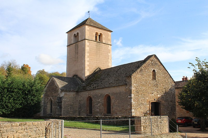 Photo du Monument Historique Eglise de la Purification de la Vierge situé à Berzé-la-Ville