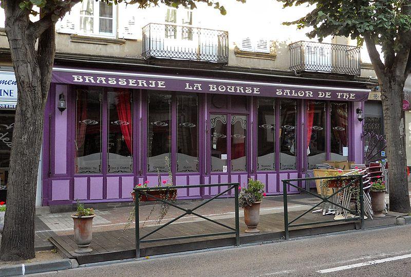 Photo du Monument Historique Café de la Bourse situé à Autun