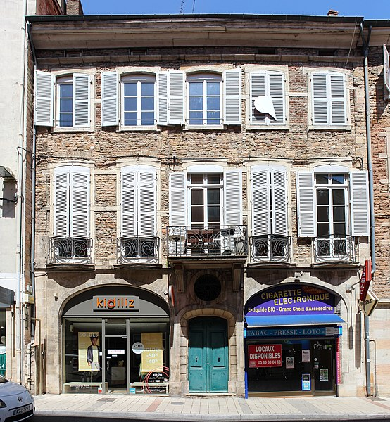 Photo du Monument Historique Maison situé à Mâcon