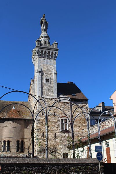 Photo du Monument Historique Ancienne abbaye médiévale Saint-Pierre situé à Chalon-sur-Saône