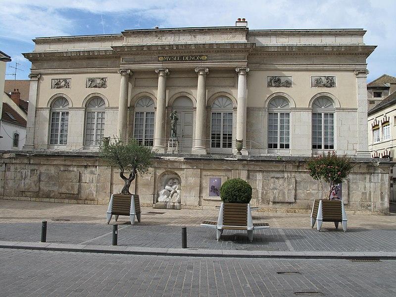Photo du Monument Historique Musée Vivant Denon situé à Chalon-sur-Saône