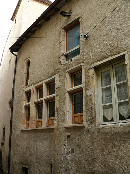 Photo du Monument Historique Maison situé à Cluny