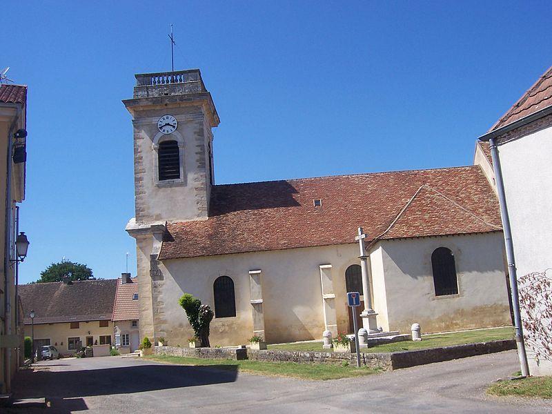 Photo du Monument Historique Eglise Saint-Cyr et Sainte-Julitte situé à Saint-Cyr