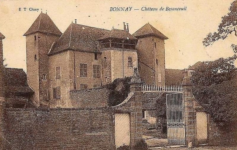 Photo du Monument Historique Château de Besanceuil situé à Bonnay