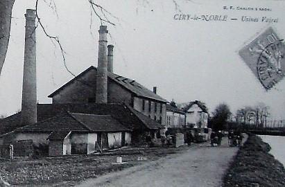 Photo du Monument Historique Briqueterie des Touillards-Vairet-Baudot situé à Ciry-le-Noble