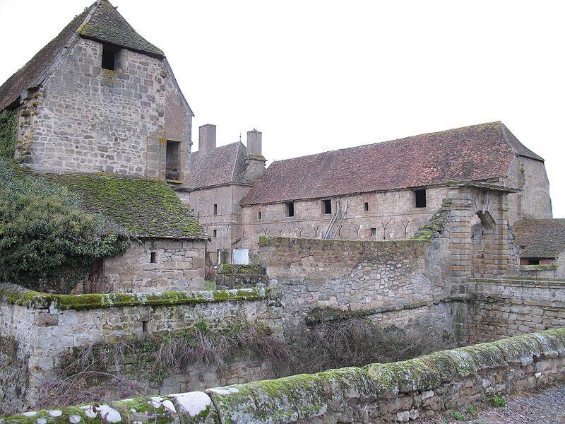 Photo du Monument Historique Château situé à Dracy-Saint-Loup