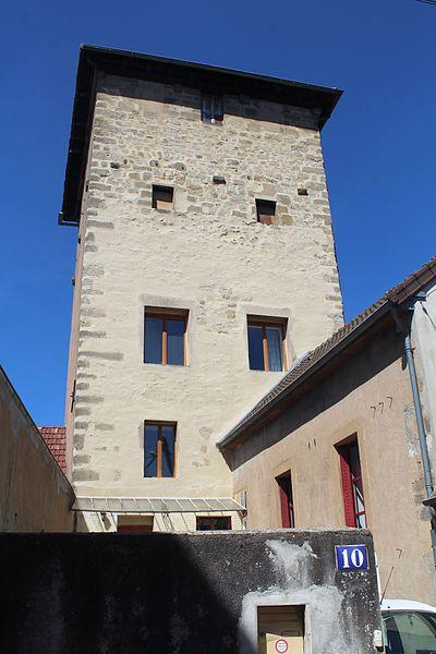 Photo du Monument Historique Tour dite de la Bondue situé à Autun