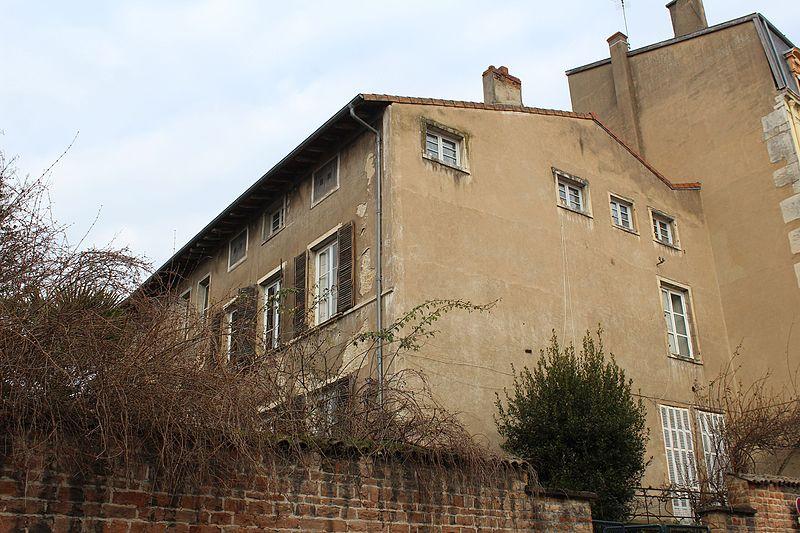 Photo du Monument Historique Hôtel de Rossan de Davayé situé à Mâcon
