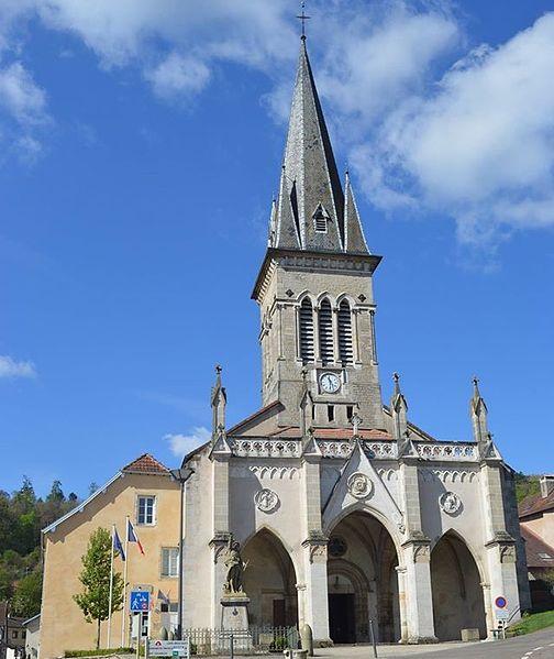 Photo du Monument Historique église des Saints-Jumeaux situé à Colombier