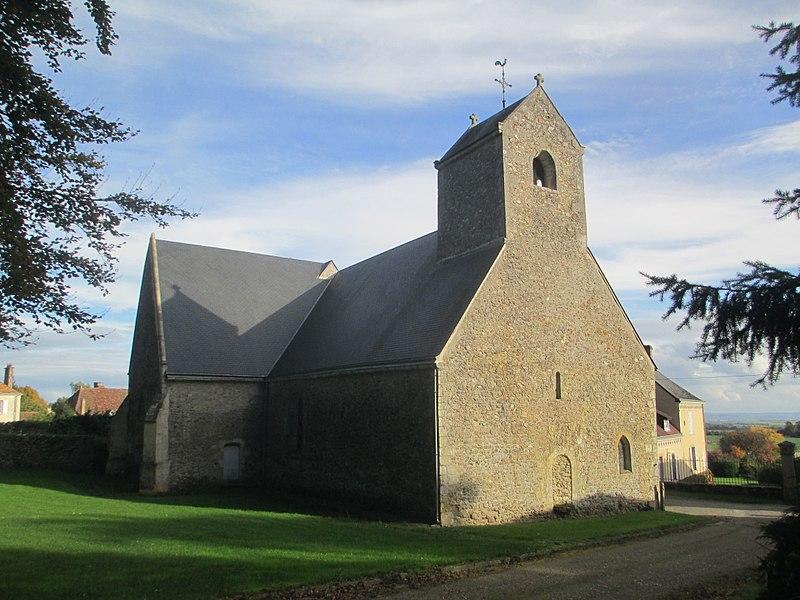 Photo du Monument Historique Eglise d'Aillières situé à Aillières-Beauvoir