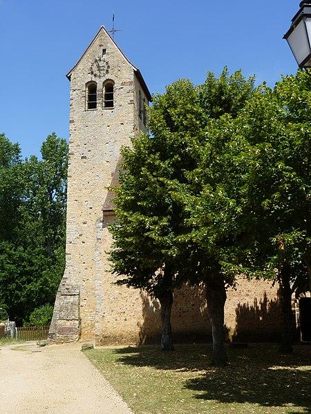 Photo du Monument Historique Eglise situé à Asnières-sur-Vègre