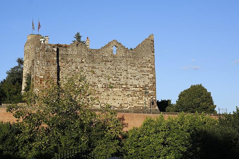 Photo du Monument Historique Château (restes) situé à Beaumont-sur-Sarthe
