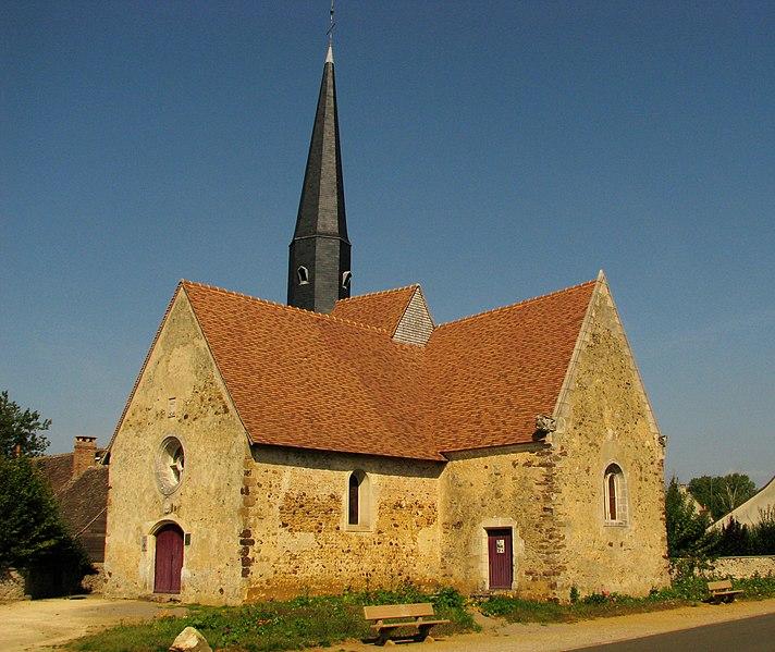 Photo du Monument Historique Eglise d'Aulaines situé à Bonnétable