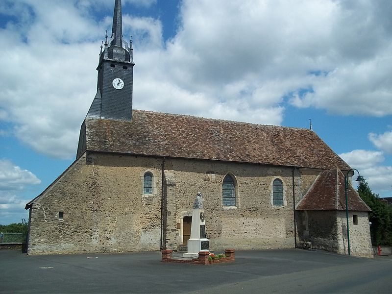 Photo du Monument Historique Eglise situé à Bouër