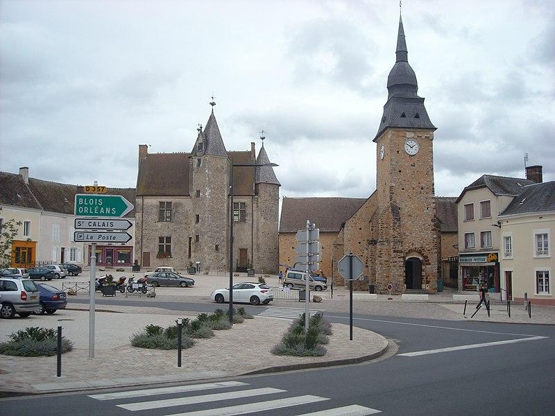 Photo du Monument Historique Château situé à Bouloire