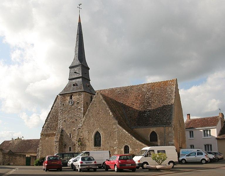 Photo du Monument Historique Eglise situé à Le Breil-sur-Mérize