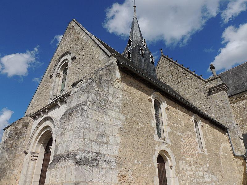 Photo du Monument Historique Eglise situé à La Bruère-sur-Loir