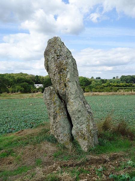 Photo du Monument Historique Menhir de Gobianne situé à Chahaignes