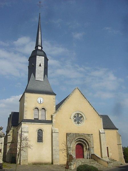 Photo du Monument Historique Eglise situé à La Chapelle-du-Bois