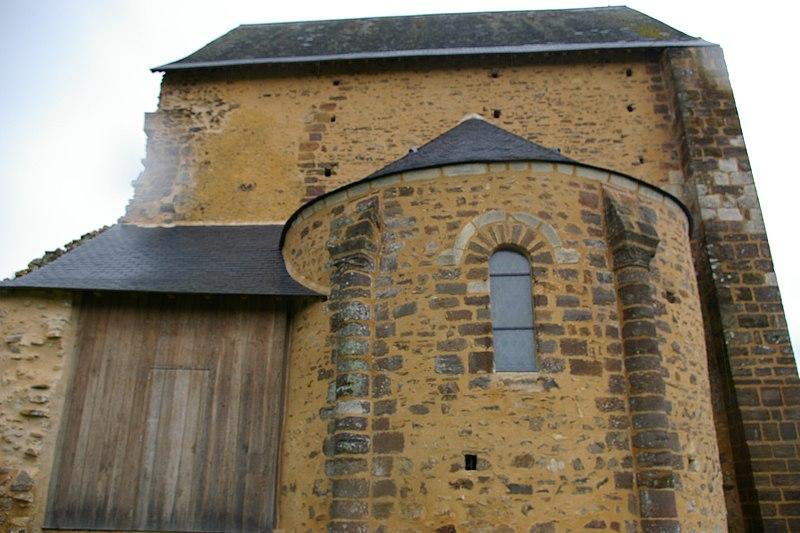 Photo du Monument Historique Chapelle d'Etival situé à Chemiré-en-Charnie