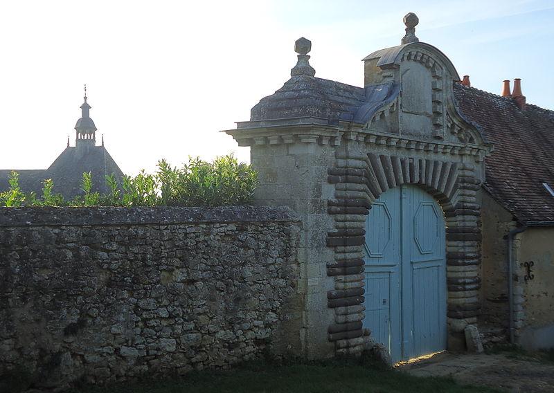 Photo du Monument Historique Château de la Sauvagère situé à Chemiré-le-Gaudin