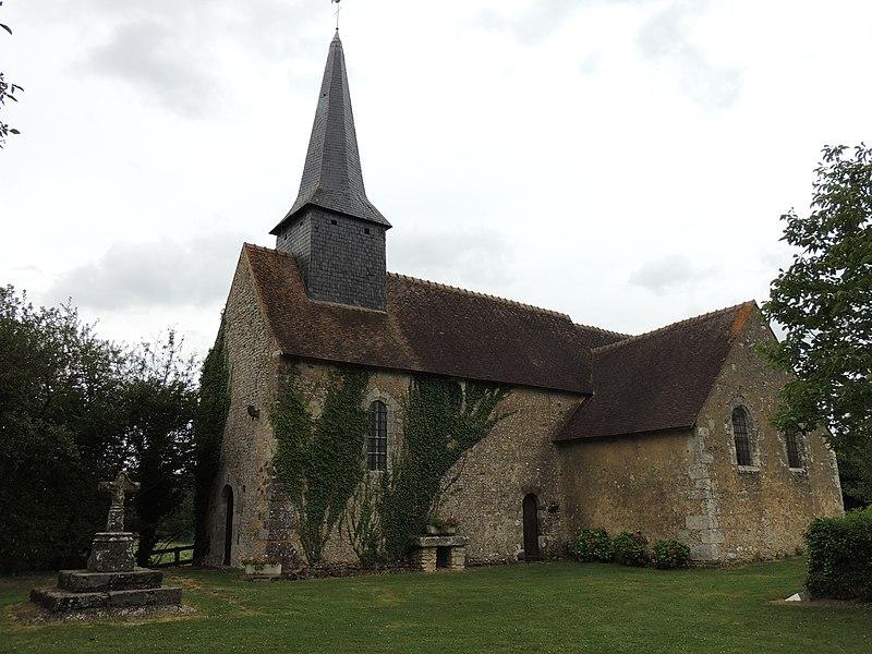 Photo du Monument Historique Eglise d'Athenay situé à Chemiré-le-Gaudin