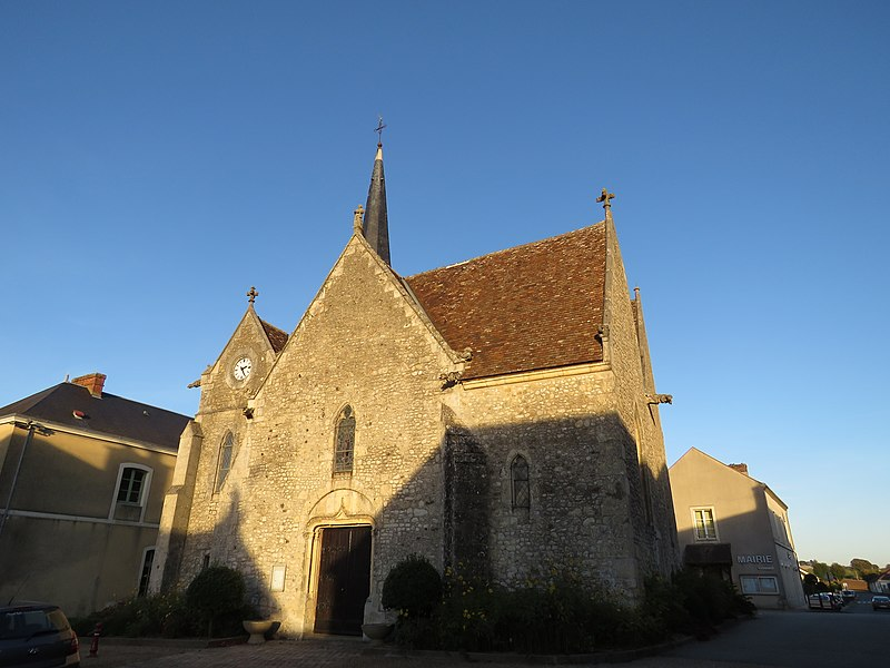 Photo du Monument Historique Eglise situé à Cherreau