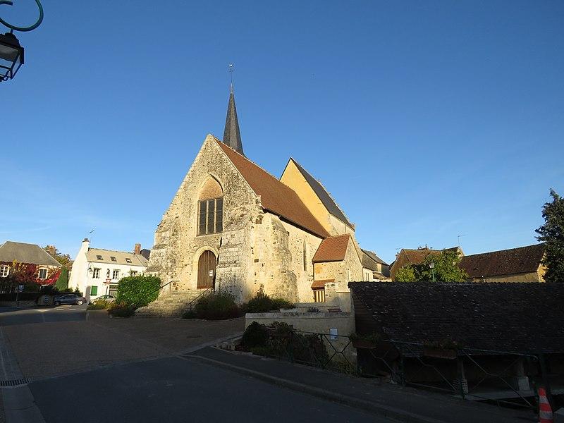Photo du Monument Historique Eglise situé à Cormes