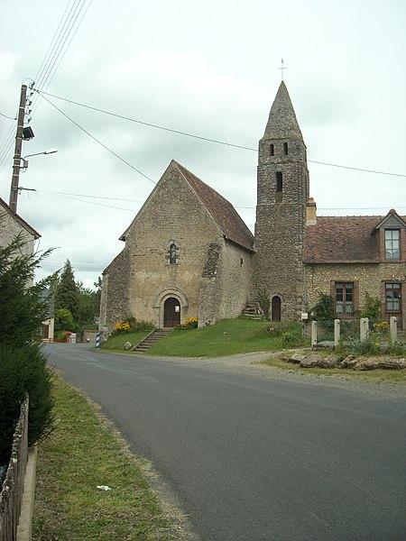 Photo du Monument Historique Eglise des Loges situé à Coudrecieux