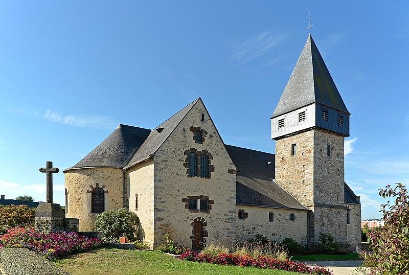 Photo du Monument Historique Eglise situé à Coulaines