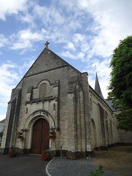 Photo du Monument Historique Eglise situé à Coulongé