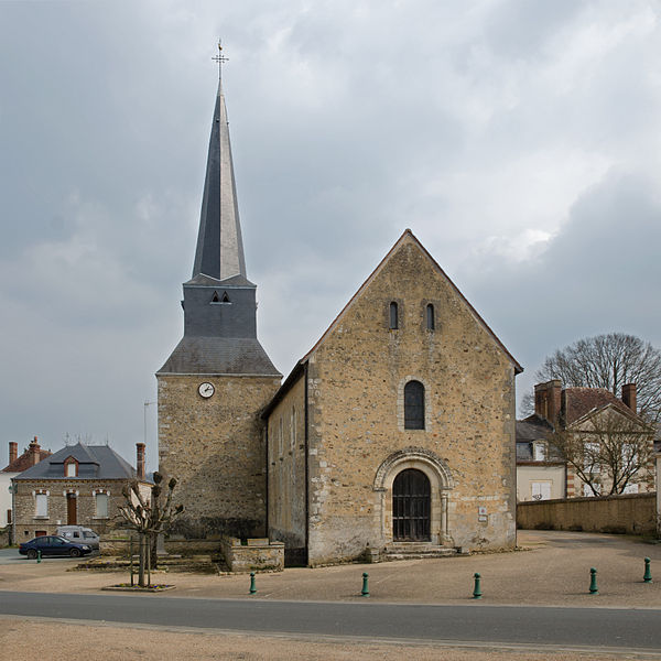 Photo du Monument Historique Eglise Saint-Martin-de-Tours situé à Courgenard
