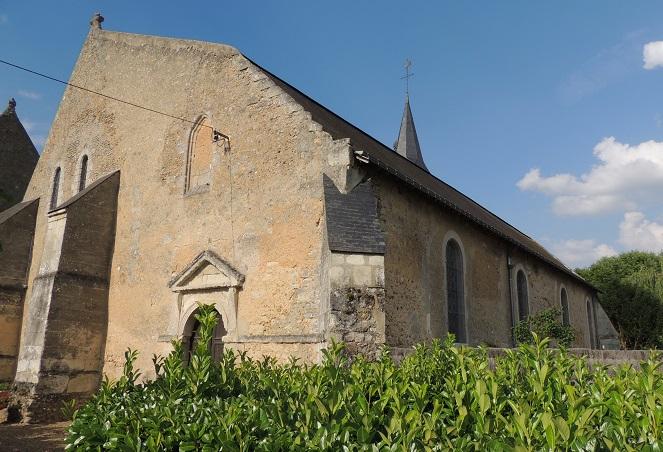 Photo du Monument Historique Eglise situé à Dissay-sous-Courcillon