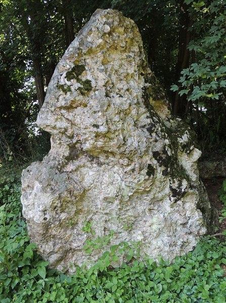 Photo du Monument Historique Menhir situé à Dissay-sous-Courcillon