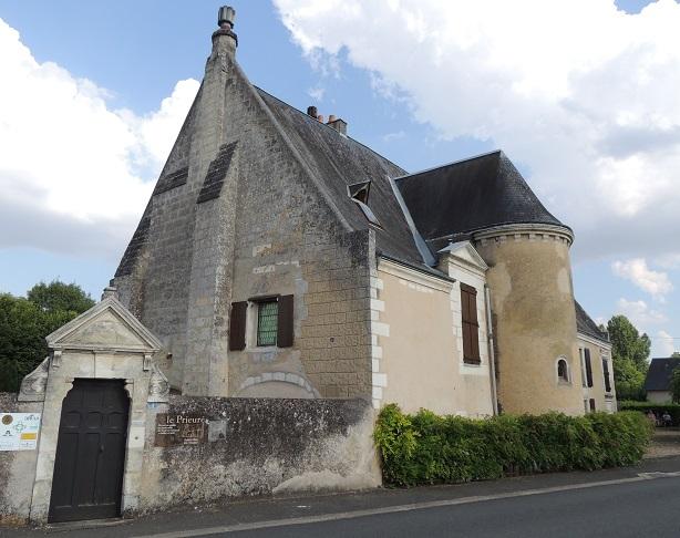 Photo du Monument Historique Prieuré situé à Dissay-sous-Courcillon