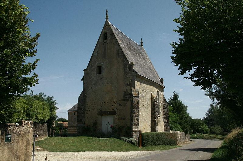 Photo du Monument Historique Chapelle Notre-Dame-de-l'Habit situé à Domfront-en-Champagne
