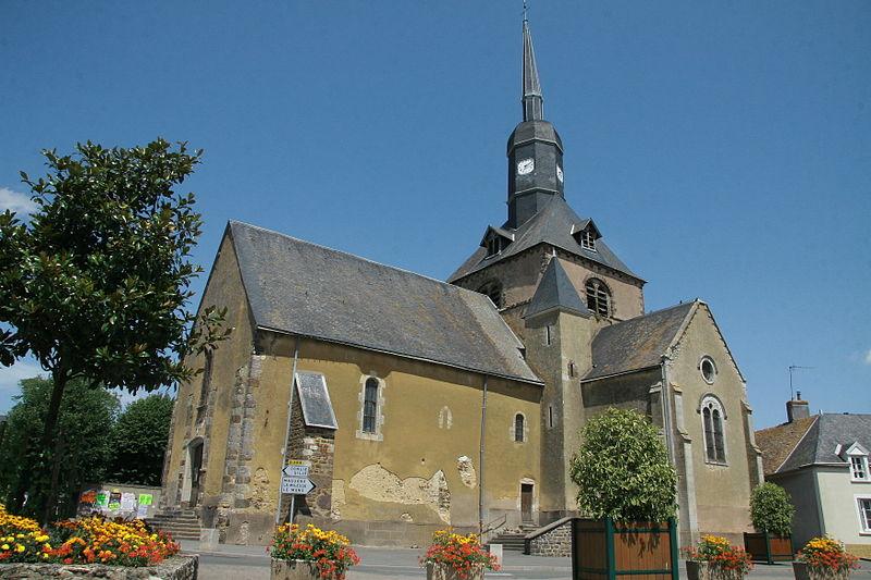 Photo du Monument Historique Eglise situé à Domfront-en-Champagne