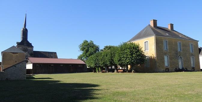 Photo du Monument Historique Presbytère situé à Domfront-en-Champagne