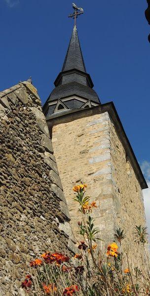 Photo du Monument Historique Eglise situé à Duneau
