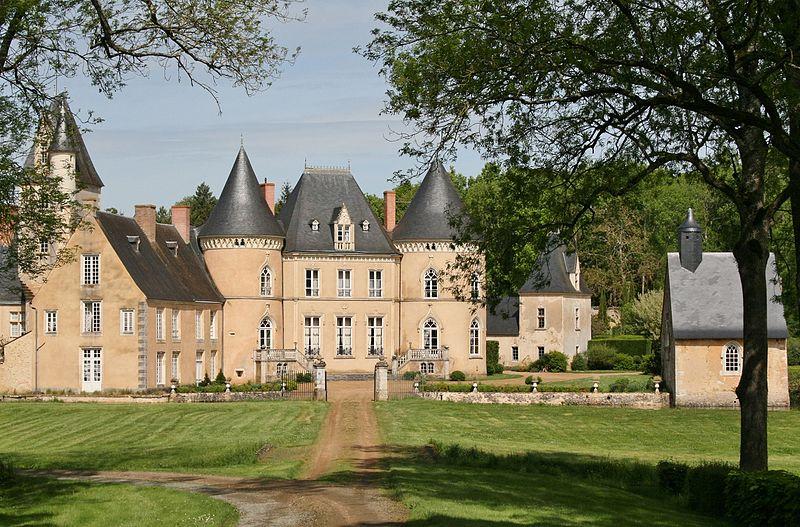 Photo du Monument Historique Château de Vaulogé situé à Fercé-sur-Sarthe