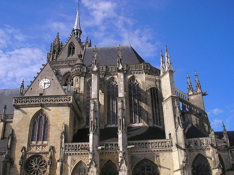 Photo du Monument Historique Eglise Notre-Dame-des-Marais situé à La Ferté-Bernard
