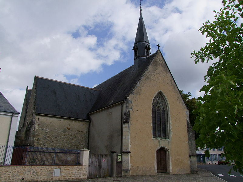 Photo du Monument Historique Eglise Saint-Antoine-de-Rochefort situé à Ferté-Bernard (La)