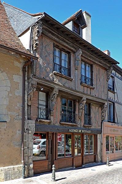 Photo du Monument Historique Maison situé à La Ferté-Bernard