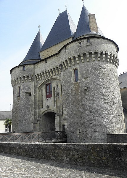 Photo du Monument Historique Porte situé à Ferté-Bernard (La)