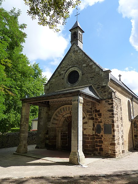 Photo du Monument Historique Chapelle Notre-Dame-des-Vertus situé à La Flèche